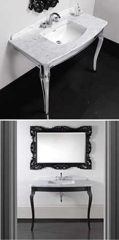Imperial Bathrooms Westminster Basin Stands - Inspired by period console tables, these provide an attractive alternative to pedestal or furniture-mounted basins. Imperial Bathrooms, Basins, Console Tables, Westminster, Vanity Bench, Bauhaus, Pedestal, Period, Marble