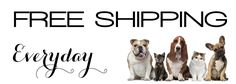 We specialize in fashion apparel for your dog including the latest in clothing, jewelry, charms, collars, leashes, no choke harnesses and pet safety products,