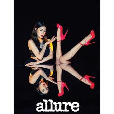 tiffany x crazy horse paris  for the june issue of @allurekorea ❤️ | http://www.allkpop.com/article/2015/05/tiffany-teases-her-transformation-into-a-sexy-queen-of-the-club-for-allure