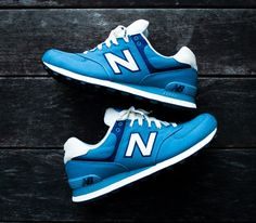 New Balance 574 – Blue Aster / Ivory