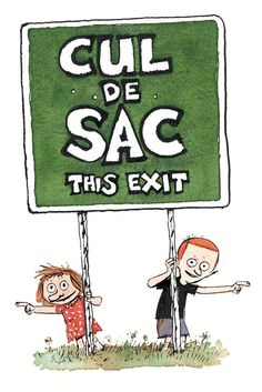 Cul de Sac by Richard Thompson: A comic strip about the life of a pre-school girl named Alice Otterloop. It is a light-hearted comic strip centered around a four-year old girl and her suburban life experiences on a cul-de-sac with her friends Beni and Dill, older brother Petey and her classmates at Blisshaven Academy pre-school.  | http://gocomics.com/culdesac | #comics #kids #family | © Richard Thompson