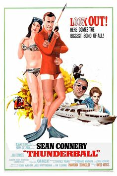 James Bond Movie Posters, Old Movie Posters, James Bond Movies, Sean Connery, Old Movies, Vintage Movies, Indie Movies, La Revanche D'une Blonde, Classic Hollywood