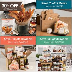 April Tastefully Simple Meal Kit Coupons and client promo 30% off with a purchase of $50 or more!