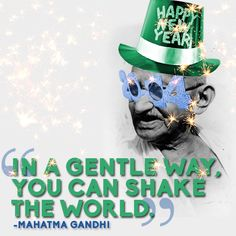 Mahatma Gandhi | 14 Quotes To Inspire Your New Year's Resolutions For 2014
