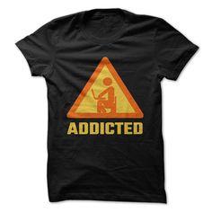 AddictedAddicted T-shirtaddicted, computer, computer gamer, computer nerd, Desk, gamer, gaming, geek, internet, nerd, network, networking, programmer, social, t shirt, tech,