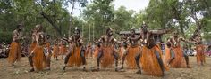 Aboriginal dancers at Laura Dance Festival  - Join us on a 5 days 4 nights expedition Come celebrate the world's oldest living culture.