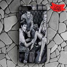 Audrey Dean And Monroe iPhone SE Black Case