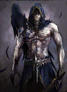 #fantasymen #shirtlessfantasymen #warlock