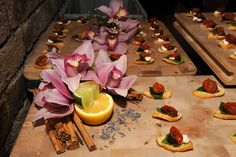 Beautifully Decorated #Canapes