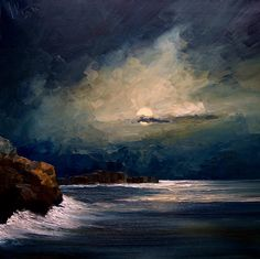 justyna kopania | Night Painting by Justyna Kopania - Night Fine Art Prints and Posters ...