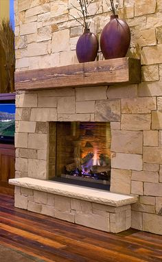 Reclaimed antique wood mantels...