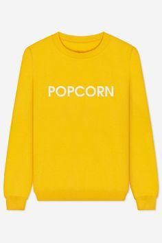 Popcorn embroidered - 22,95€ on rad.co #popcorn