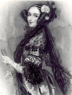 English mathematician Ada Lovelace was born on December 10th, 1815.  She is credited as being the world's first computer programmer.