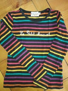 """Tee shirt """" Little Marcel """"  6/8 ans ."""