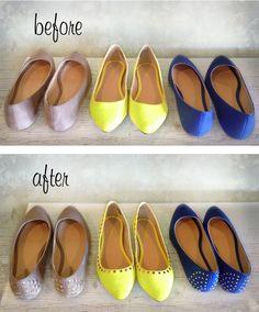 Decora tus zapatillas
