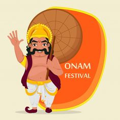 Onam Festival Kerala, Happy Onam, Horse Wall Art, Poster Design Inspiration, Vector Photo, Displaying Collections, King, Leaf Crown, Bts Qoutes