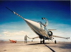 F-104 Starfighter- now that's a hero shot!