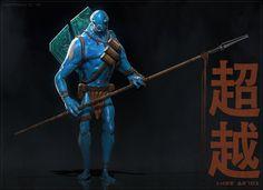 BLUE - Hero by BenMauro on deviantART