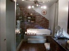 loft style bathrooms - Google Search