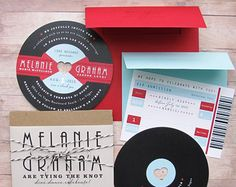 Music Lovers Reto Record 1950s Rockabilly LP by LetterBoxInk