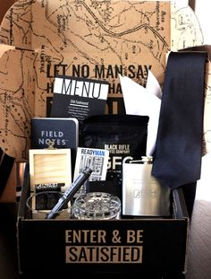 Alpha Outpost Subscription Box for Men Review! 12/15 The Homespun Chics