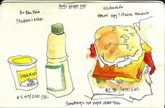 airport food by Hoopy*, via Flickr