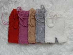 Newborn Pants Short.Knitted Pants.Color by knitsdwarfs on Etsy, $18.00