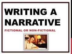I need help writing a narrative essay, It's important!?