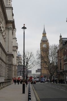 https://flic.kr/p/5LHE6s | Birdcage Walk | Looking towards Parliament Square and Westminster Bridge.
