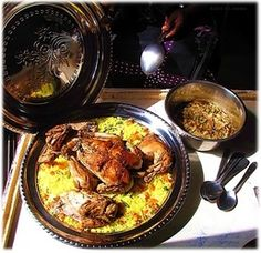 Poulet yassa, classic and popular West African chicken and rice dish defined by the onion sauce. Gorgeous African ethnic meals, ethnic food from traditional everyday African cuisine at J'vois nice Africa! Robust, nutritious, well-balanced meals.
