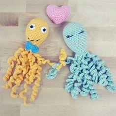 Pulpitos solidarios Tweety, Crochet Necklace, Crochet Hats, Art, Octopus, Trapillo, Crocheting, Amigurumi, Tejidos