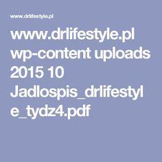 www.drlifestyle.pl wp-content uploads 2015 10 Jadlospis_drlifestyle_tydz4.pdf