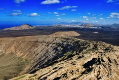 Caldera Blanca - Lanzarote Ruta senderismo dificultad media
