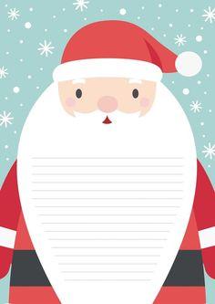 Εκτυπώσιμο Γράμμα στον Άγιο Βασίλη - workingmoms.gr Christmas Mood, Kids Christmas, Christmas Crafts, Merry Christmas, Christmas Party Invitation Template, Santa Letter, Writing Paper, Diy Weihnachten, Christmas Wallpaper