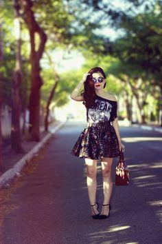Blog da Lê-Moda e Estílo: Look - Scarpin com pérolas