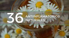 36 antiinflamatorios naturales para tratar el dolor