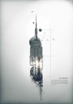 avantgarde on the Behance Network #graphic #inspiration #design
