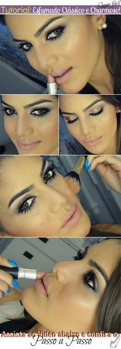 Tutorial: Classic Smoky Eye