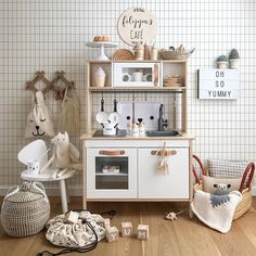 53 Ideas kids room ideas ikea play kitchens for 2019 Girls Play Kitchen, Ikea Kids Kitchen, Ikea Kids Room, Kids Bedroom, Play Kitchens, Kids Room Organization, Baby Room Decor, Girl Room, Decoration