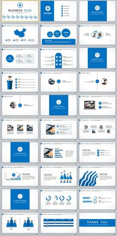 Business infographic : 30 Best business plan PowerPoint templates on Behance #powerpoint #templates #p