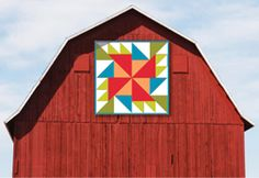 Free Barn Quilt Patterns | ... held a fun barn quilt contest and winners would get their quilt