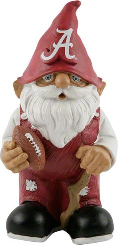 Crimson Tide gnome; Bama is my fav after FSU but this will be ackward if/when I move to Auburn lol
