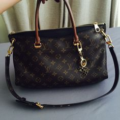 Yes 4 Trade  Louis Vuitton Pallas Noir Will only trade for a Rolex & LV only Louis Vuitton Bags Shoulder Bags