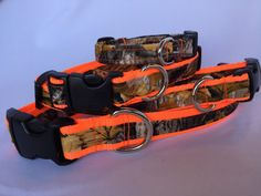 Camo Hot Orange  Safety Orange  Neon Orange by cavanaughscollars