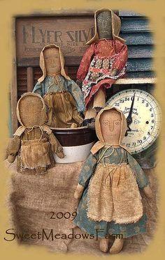 Prairie dolls