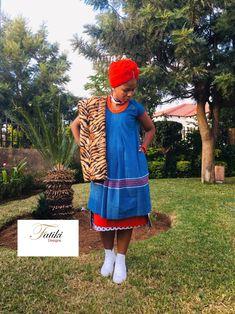 Sepedi traditional attire Pedi Traditional Attire, Sepedi Traditional Dresses, African Traditional Wear, African Fashion Ankara, Dreams, Bride, How To Wear, Design, Wedding Bride