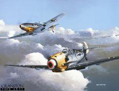 Adolf Galland / Messerschmitt Bf109 E-4