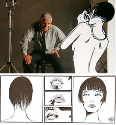 Italian cartoonist Guido Crepax died on this day in 2003. #Valentina