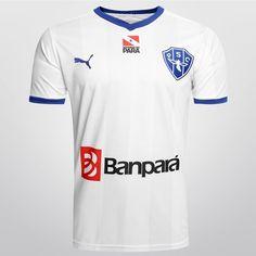 Camisa Puma Paysandu II 2015 s/n° - Branco