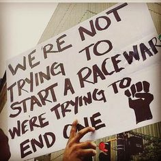 Black Lives Matter<-- I am a non-black person but I am aware of the of injustice regarding race. I support this because I believe in a future where this race war will end.